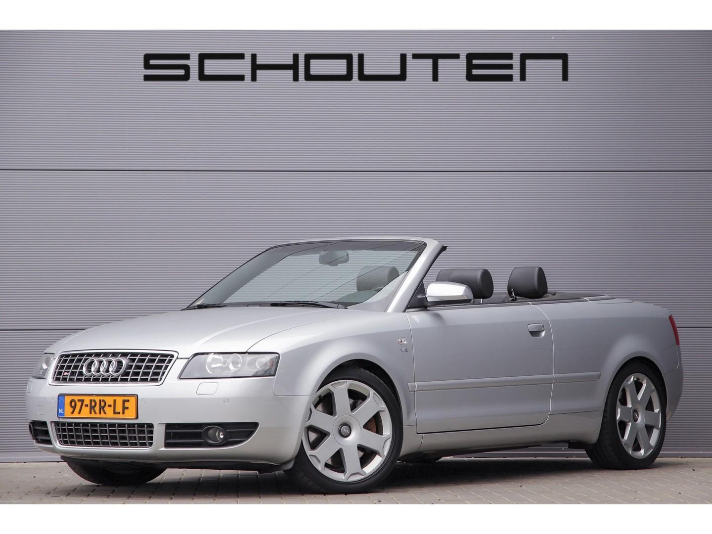 Audi A4 Cabriolet 4.2 v8 s4 quattro ned. auto bose navi 18''