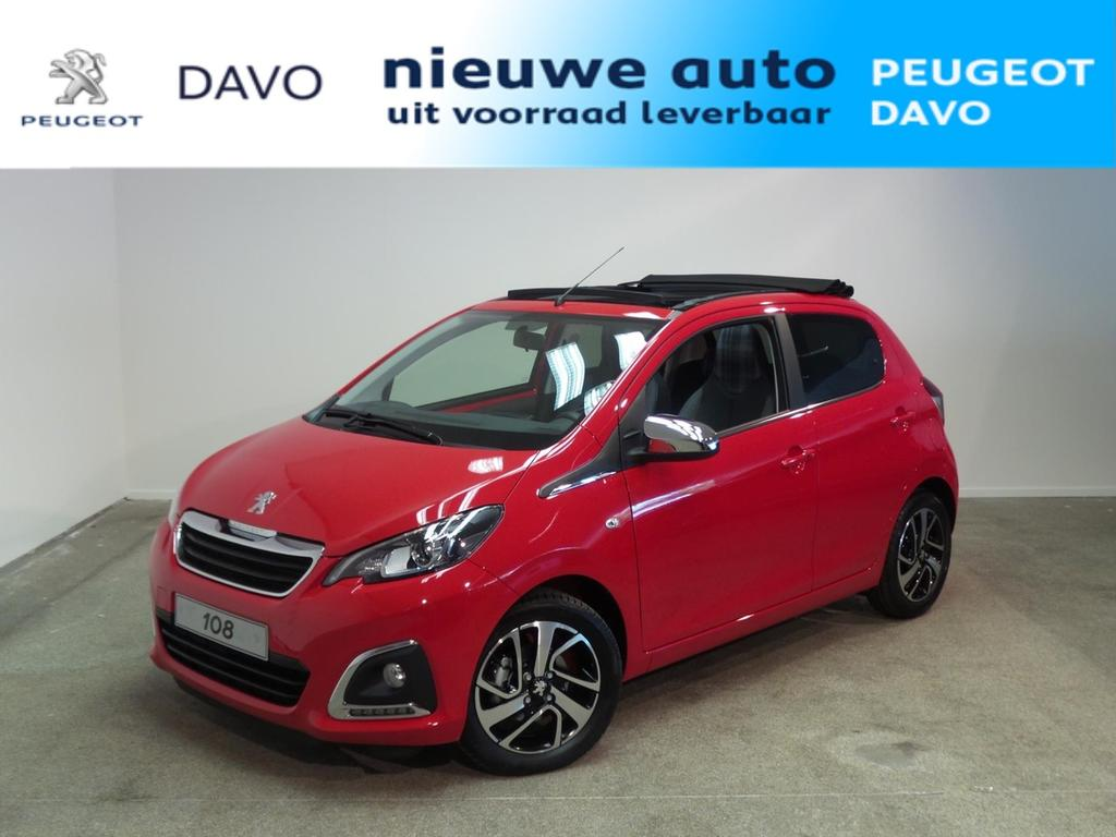 Peugeot 108 1.0 e-vti 72pk 5d top! allure