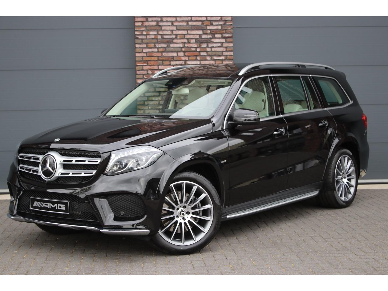 Mercedes-benz Gls 350 d 4-matic grand edition aut9, luchtvering, amg styling, panoramadak, distronic+, designo leder exclusief, memory, comand, surround view camera, dab+, keyless-go, rij-assistentiepakket plus, etc.