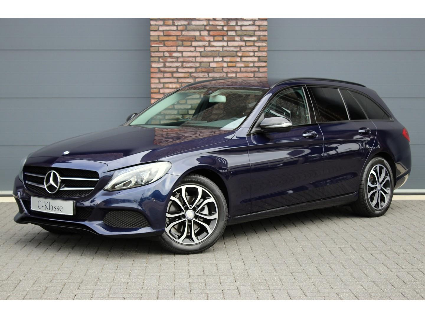 Mercedes-benz C-klasse Estate 200 d avantgarde, navigatie, bluetooth, night-pakket, led high perf., stoelverwarming, parkeer-assistent, etc.