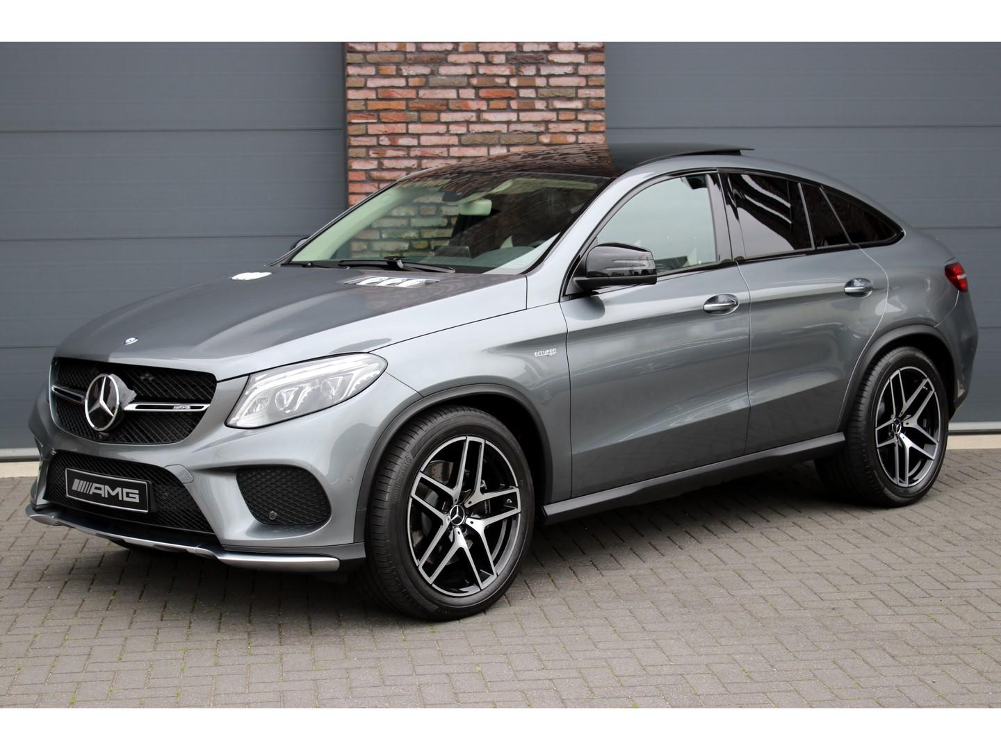 Mercedes-benz Gle-klasse Coupé 43 amg 4-matic aut9, luchtvering, panoramadak, distronic+, rij-assistent, comand, surround camera, keyless-go, memory, elek. trekhaak, harman kardon, led ils, etc.