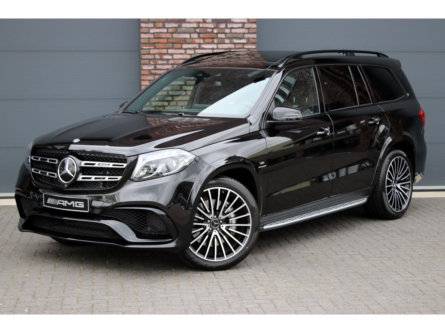 Mercedes-benz Gls 63 s amg 4-matic aut7, luchtvering, distronic+, panoramadak, leder exclusief, memory, massage, stoel-verwarming/ventilatie, entertainment achter, surround camera, elek. trekhaak, harman kardon, dab+, keyless-go, rij-assistentiepakket plus, etc.