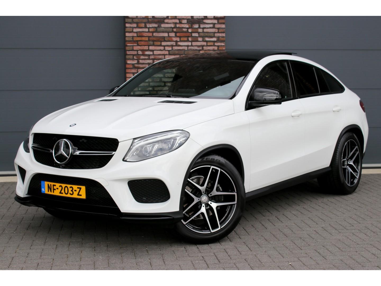 Mercedes-benz Gle-klasse Coupé 350 d 4-matic amg aut9, luchtvering, distronic+, panoramadak, surround camera, elek. trekhaak, head-up display, groot navigatie, led ils, nappa leder, stoelverwarming, etc.