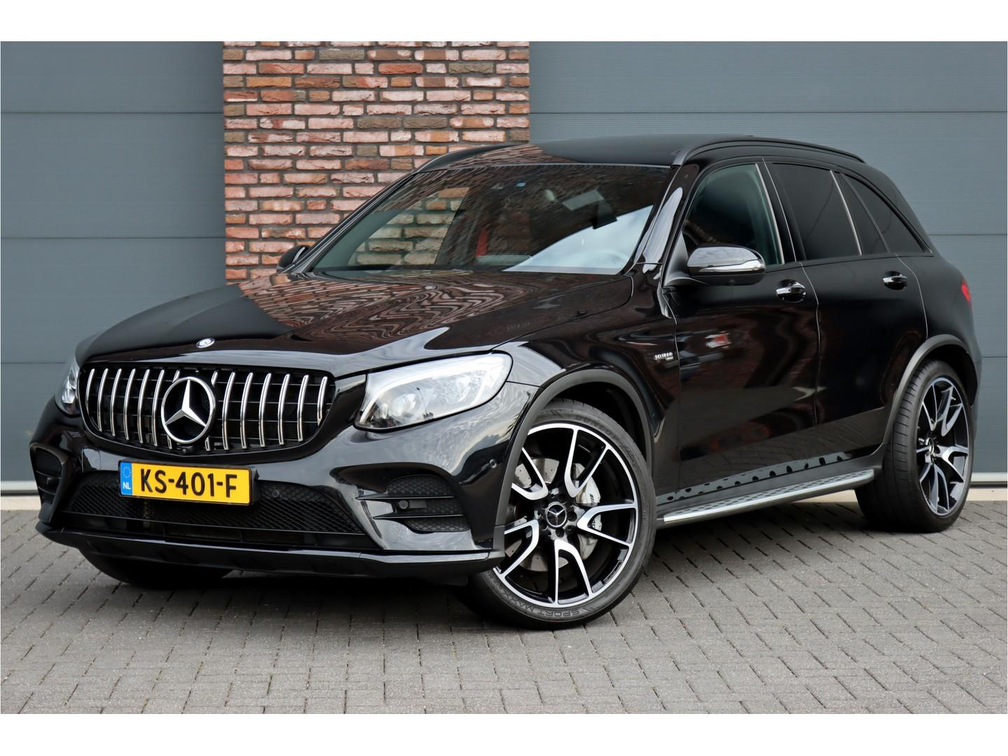 Mercedes-benz Glc 43 amg 4-matic aut9, luchtvering, panoramadak, comand, surround camera, memory, keyless-go, burmester, led ils, parkeerassistent, sfeerverlichting, dodehoekassistent, etc.