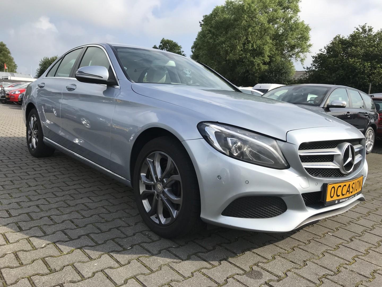 Mercedes-benz C-klasse 300h hybrid sedan avantgarde 2.1d aut. *leder+navi+pdc+ecc+cruise*