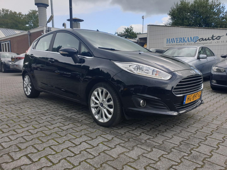 Ford Fiesta 1.5 tdci titanium lease *navi+pdc+ecc+cruise*