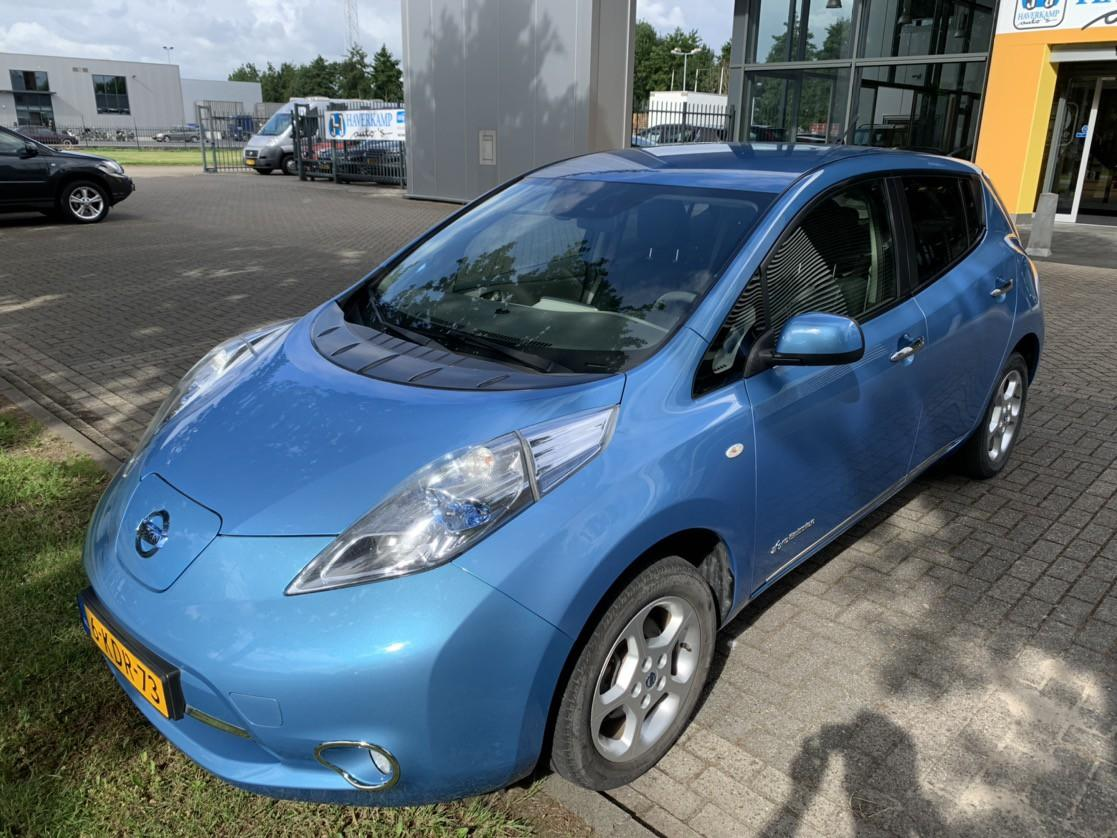 Nissan Leaf Base comfort-pack 24 kwh (marge-auto-geen btw) )*leder+navi+cruise+camera*