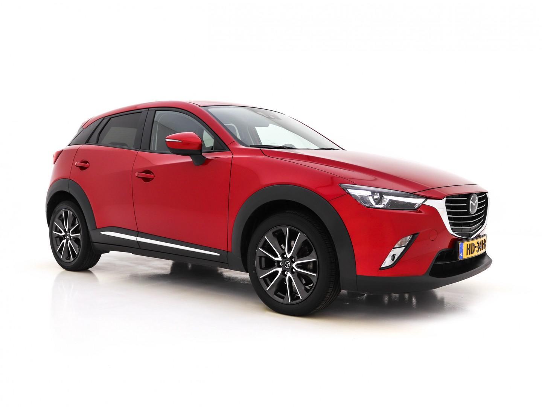 Mazda Cx-3 1.5 skyactiv-d 105 gt-m *leder+navi+led+ecc+hud+bose-sound+camera+keyless+dab+pdc*