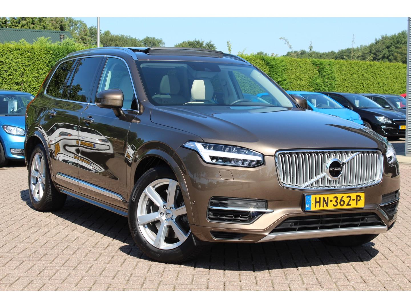 Volvo Xc90 2.0 t8 twin engine awd inscription 7p incl. btw / luchtvering / trekhaak / leder