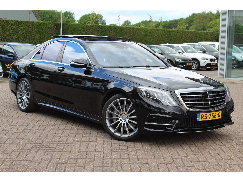 Mercedes-benz S-klasse 400 4matic prestige plus / luxe leder / rondom camera / burmester / panoramadak / head-up display /