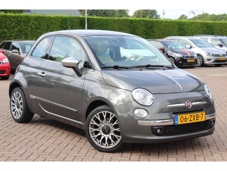 Fiat 500 0.9 twinair lounge 23910km!! / leder / panoramadak / xenon / parkeerhulp achter / airco