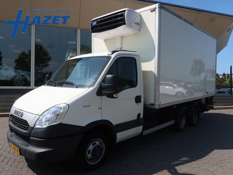 Iveco Daily 40c17 be-combi koelwagen frigo laadklep trekker oplegger