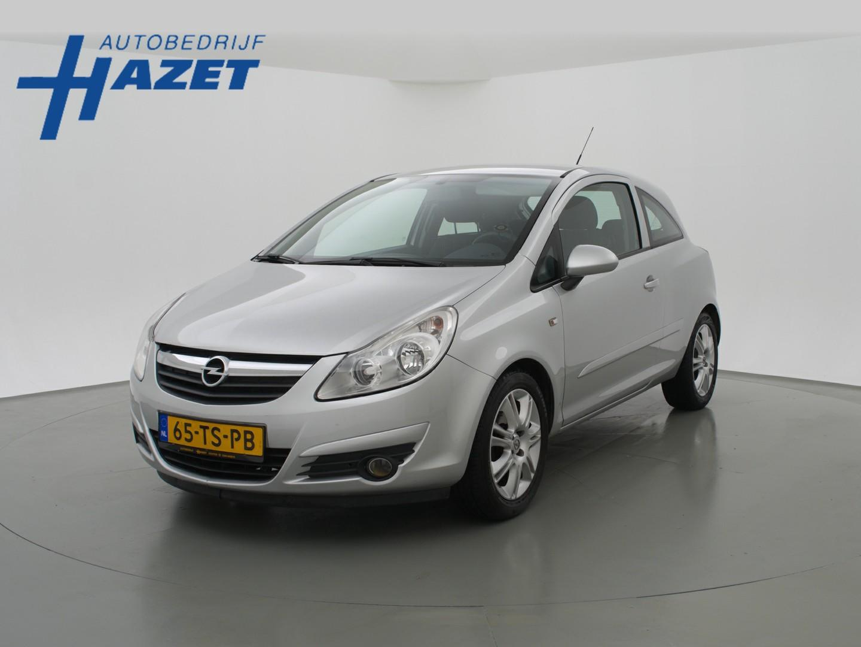 Opel Corsa 1.2-16v 3-deurs + airco / l.m. velgen