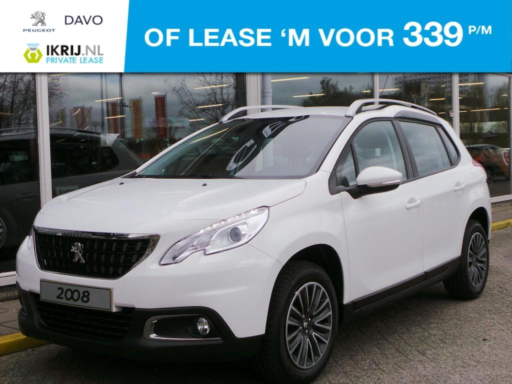 Peugeot 2008 Bleu lion 1.2 vti 82pk private lease !!!