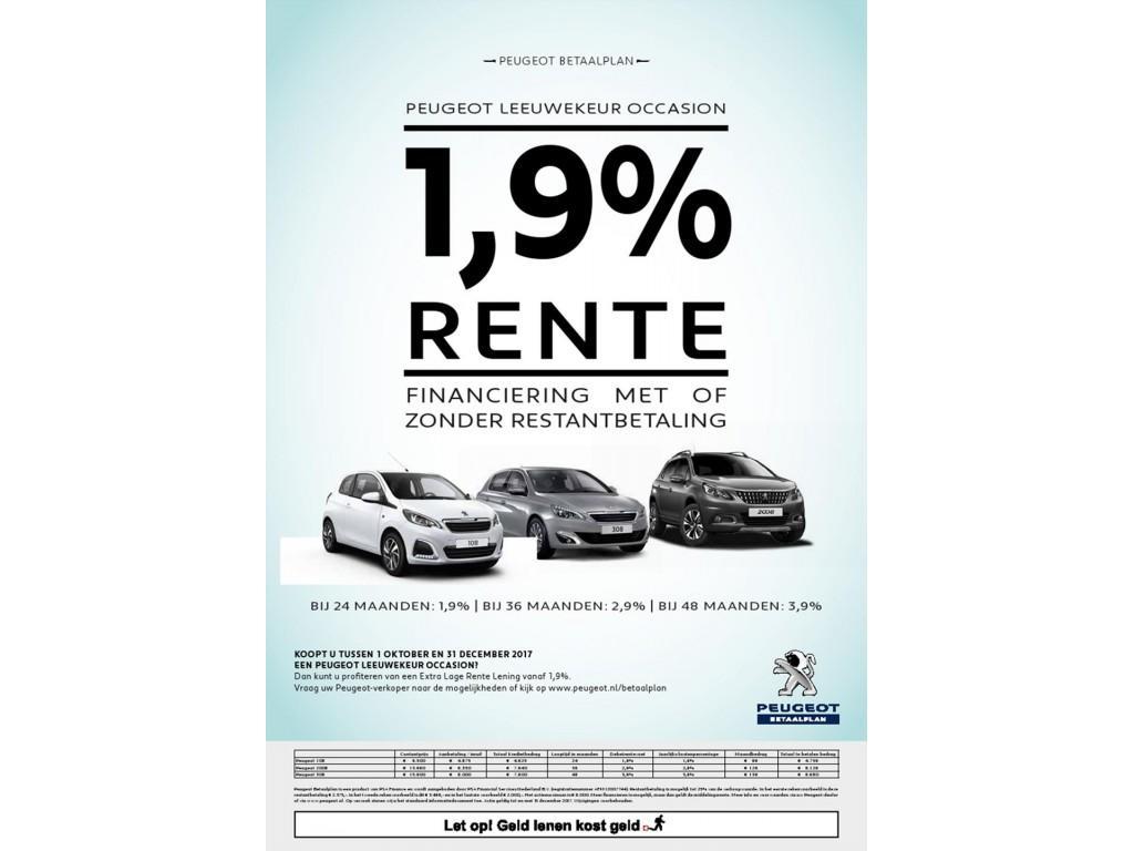 Peugeot 108 1.0 e-VTi 68pk 5D BLUE LION *AIRCO*BLUETOOTH*