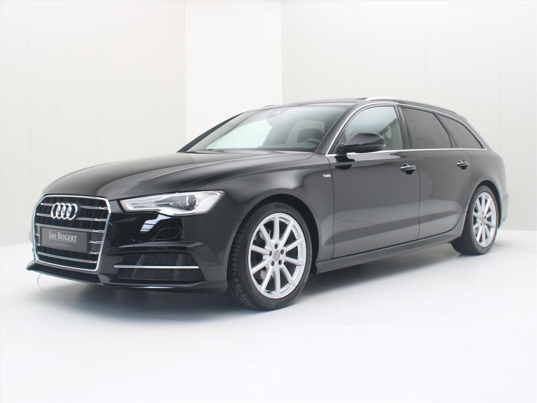 Audi A6 Avant 2.0 tdi ultra quattro 190pk s-tronic s-line [ hud+panodak+trekhaak+leder+xenon+navi ]