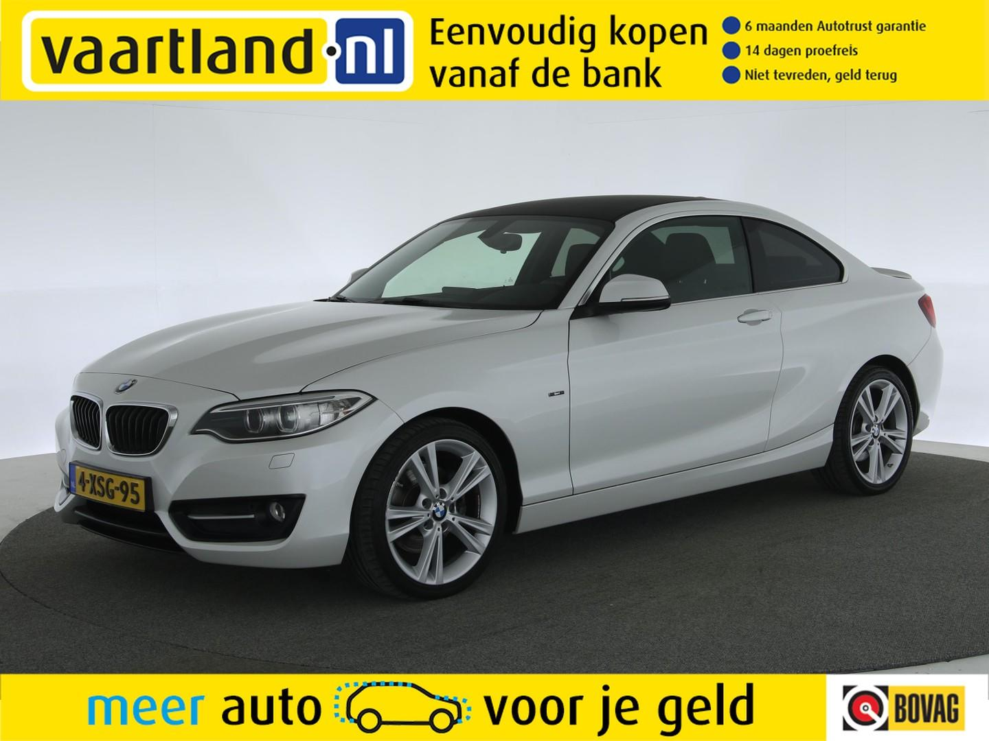 Bmw 2 serie Coupe 220d high executive sport aut. [ xenon navi prof leder ]