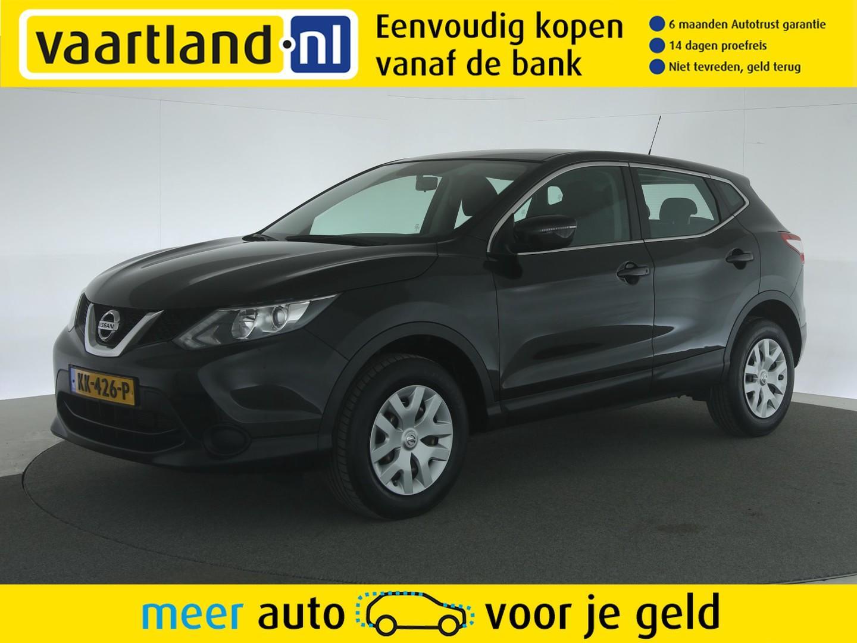 Nissan Qashqai 1.2 visia [unieke stand org. nederlands]