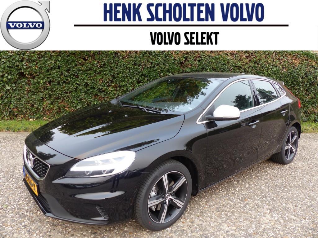 """Volvo V40 2.0 t4 190pk r-design navigatie sportstoelen led 17""""velgen"""