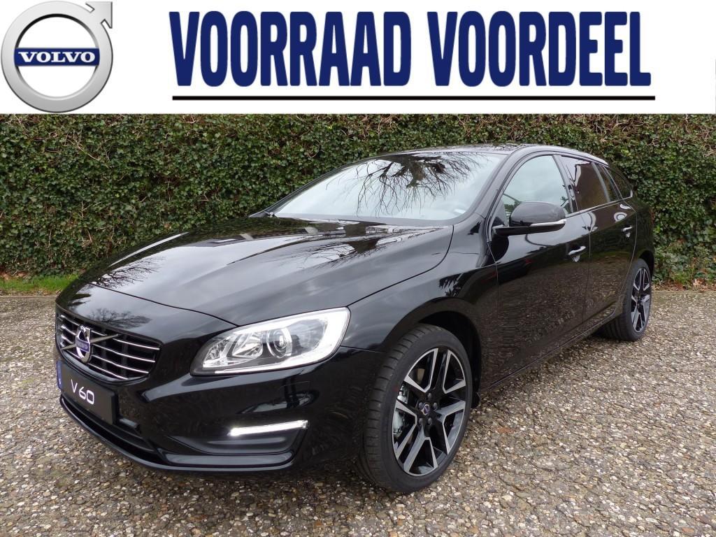 Volvo V60 D3 150pk gt polar+ dynamic, scandinavian/audio line, 18