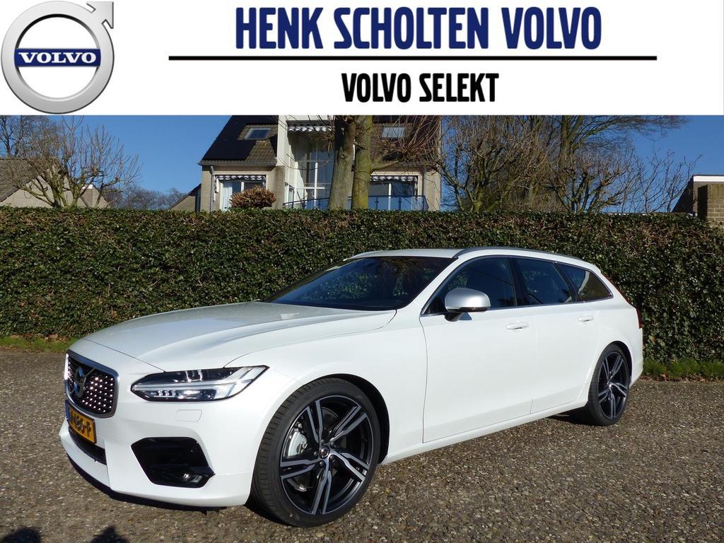 Volvo V90 T4 aut. r-design, carbon, parelmoer, full options