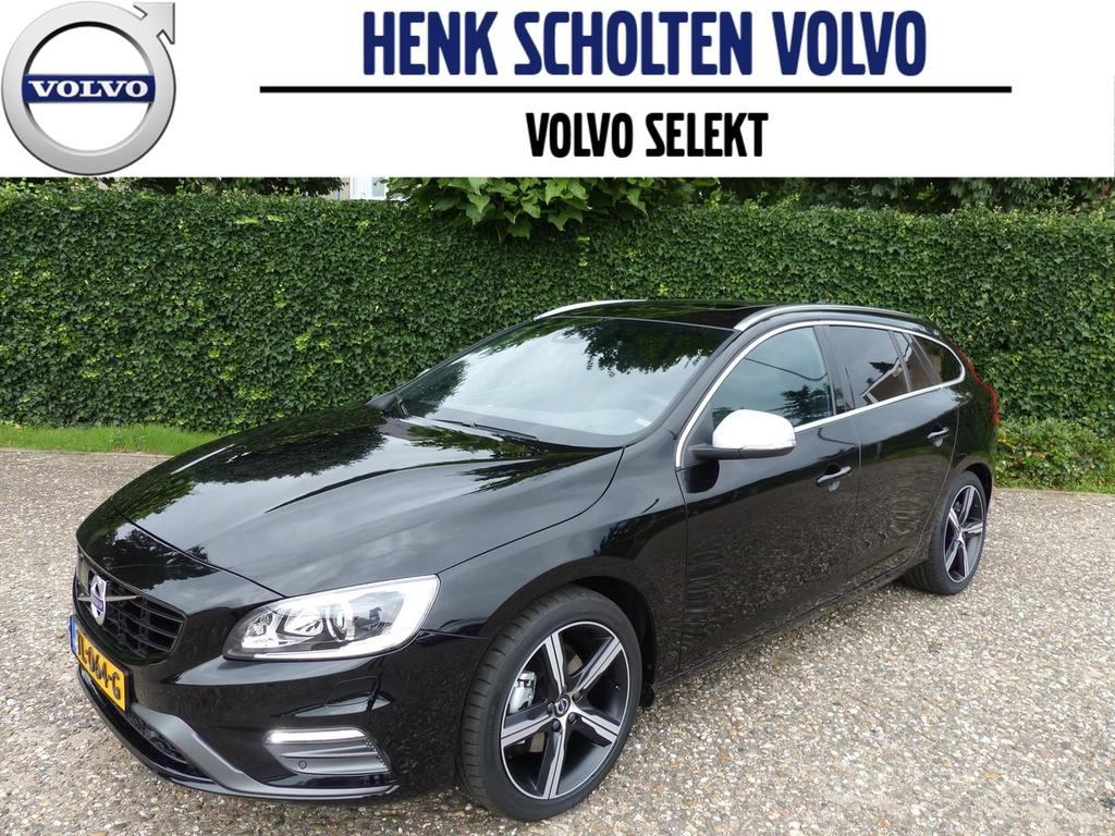 Volvo V60 D4 190pk geartronic business sport luxury/scan/intellisafe line