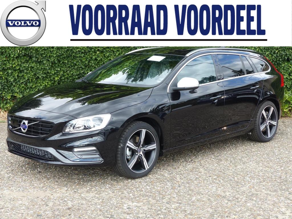 Volvo V60 T4 190pk business sport lux/scan/intellisafe pro line