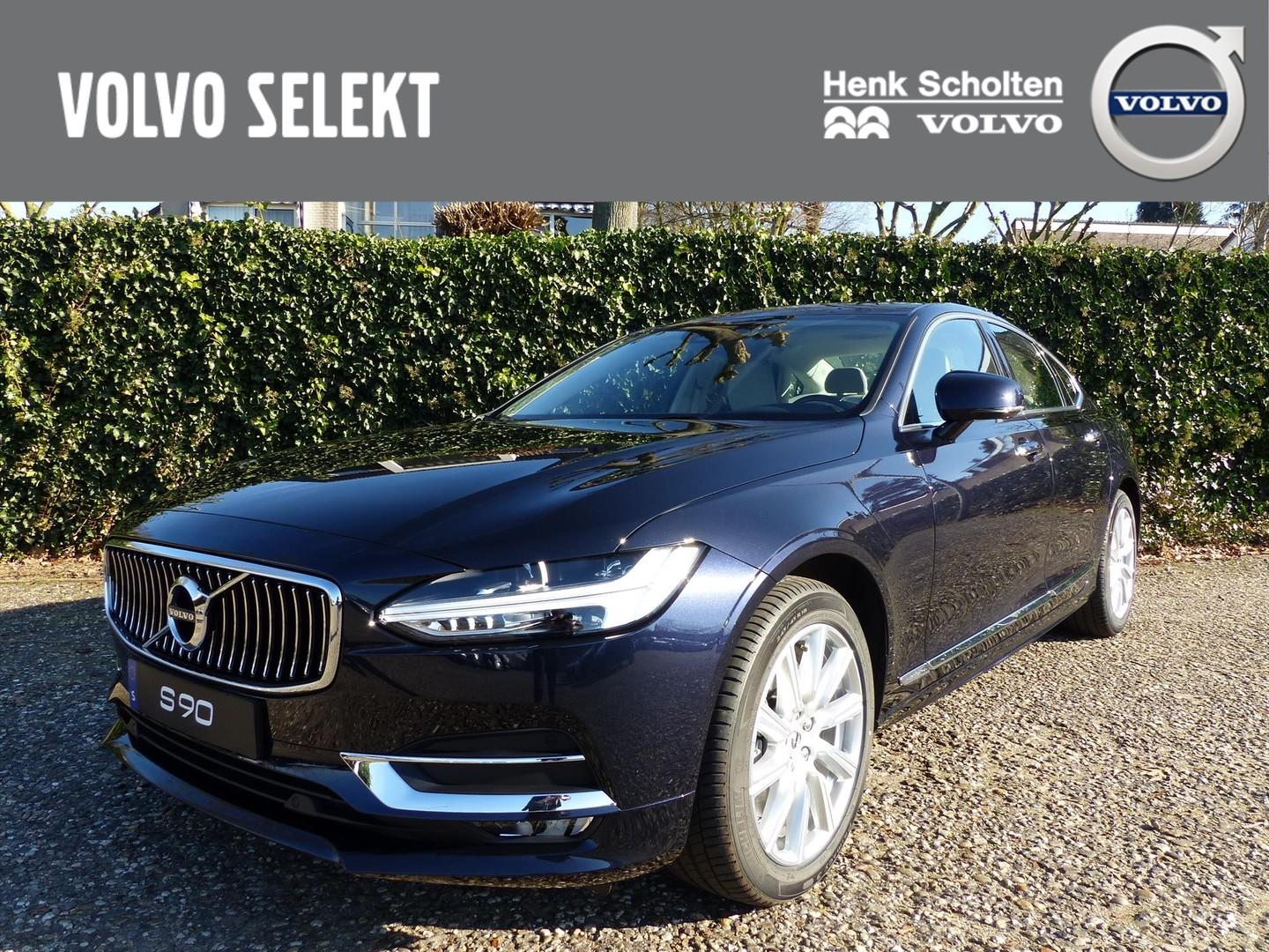 Volvo S90 T4 210pk gt inscription bus. pack pro, schuifdak, intellisafe