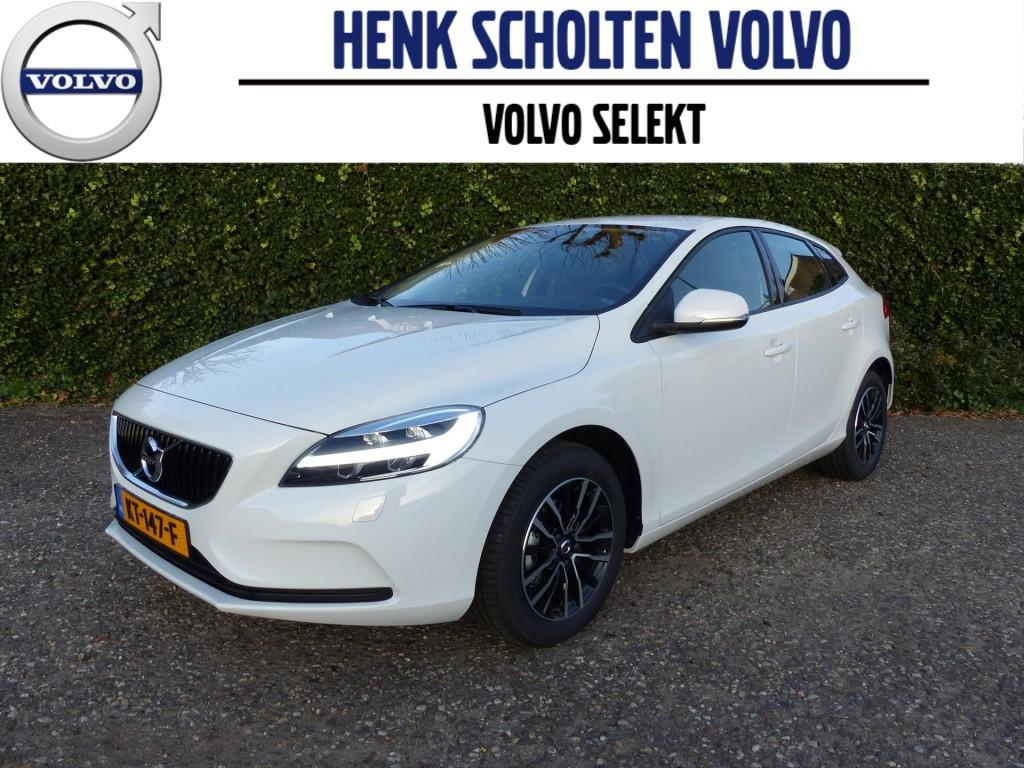 Volvo V40 D2 nordic+ 2017 21% bijt., full led, clima, parkeerverwarming