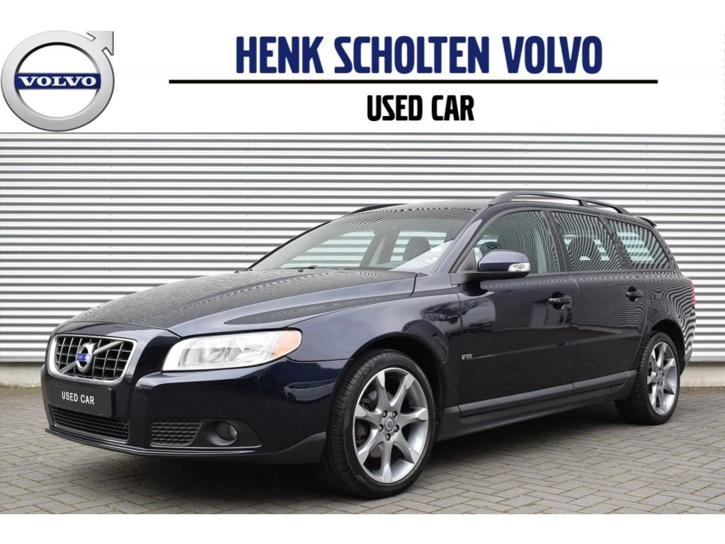 Volvo V70 2.0d limited edition leer trekhaak