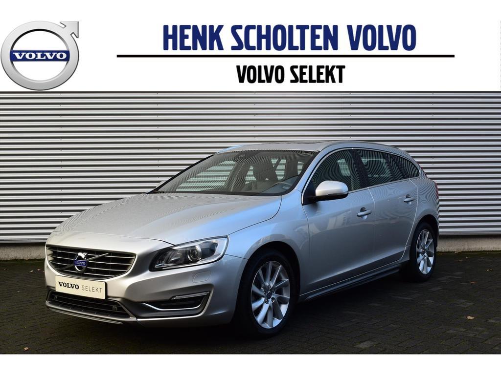 Volvo V60 D4 aut summum leder schuifdak park.camera