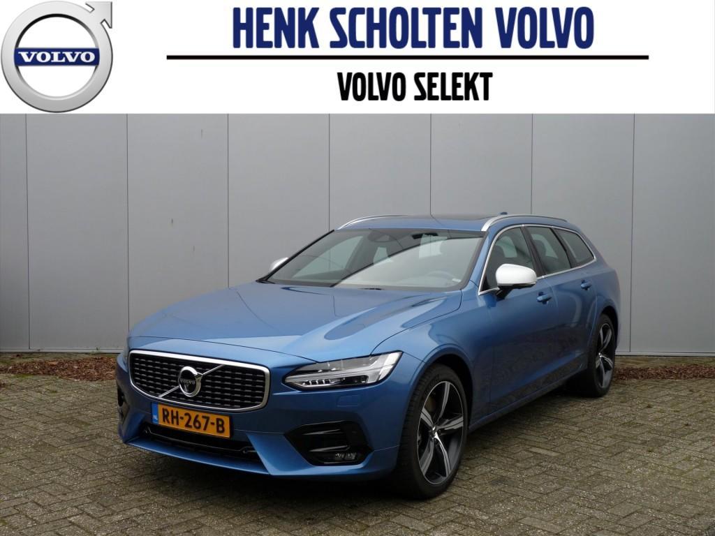 Volvo V90 D4 190pk aut8 r-design/intro b&w/luxury