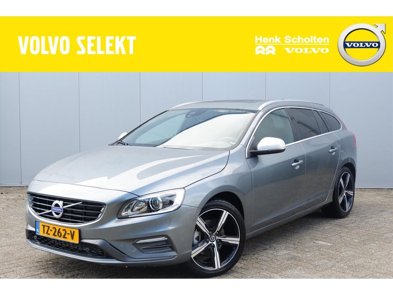 Volvo V60 T4 190pk business sport/luxury/scan.-line