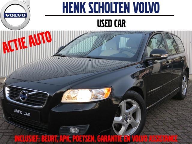 Volvo V50 D2 limited edition navi telefoon leder