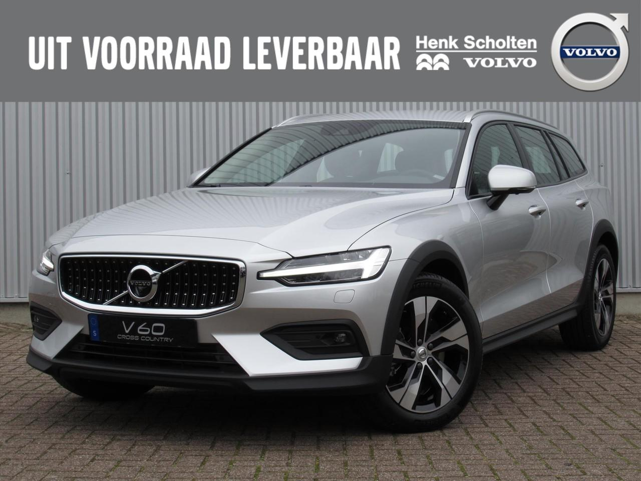 Volvo V60 cross country New d4 190pk intro edition parkeerverwarming leder