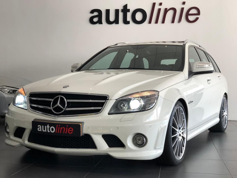 Mercedes-benz C-klasse Estate 63 amg orig nl, schaalstoelen