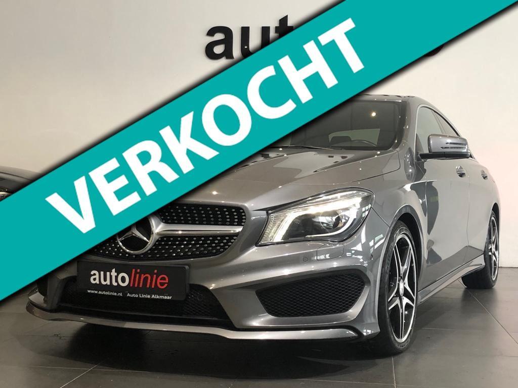 Mercedes-benz Cla-klasse 180 amg-line, camera, navi, xenon!