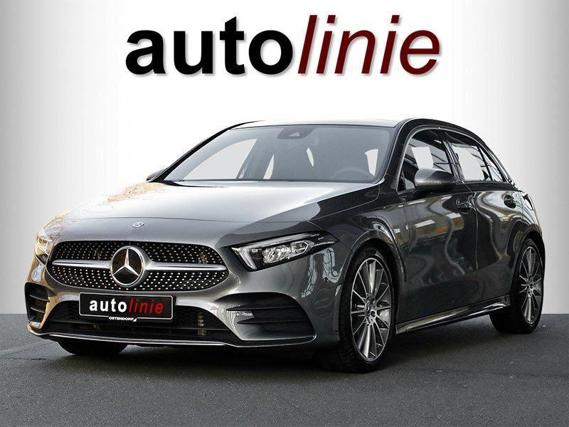 Mercedes-benz A-klasse 200 amg-line, pano, widescreen, led!