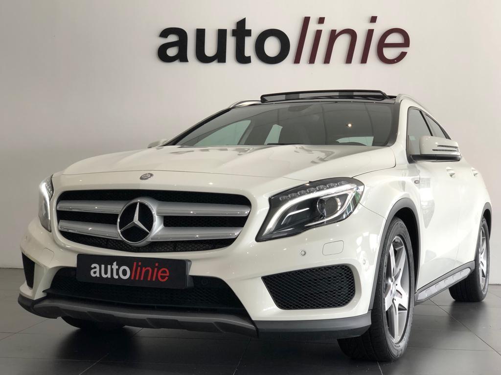 Mercedes-benz Gla-klasse 180 prestige amg-line, panoramadak!