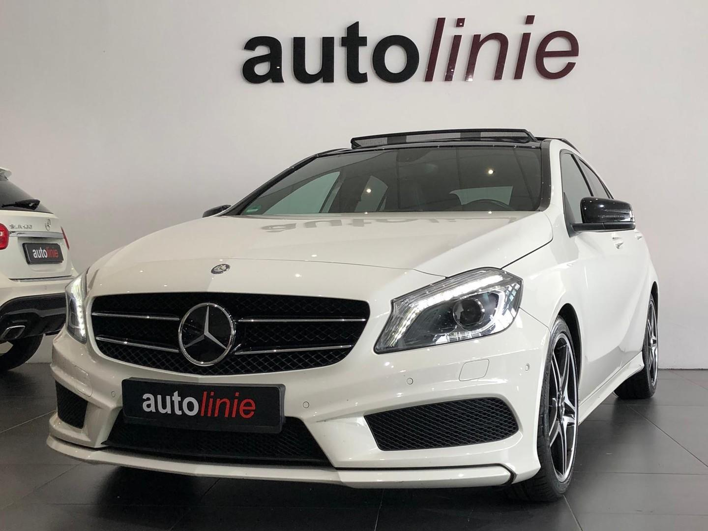 Mercedes-benz A-klasse 200 amg-line ,panorama, camera, pdc!