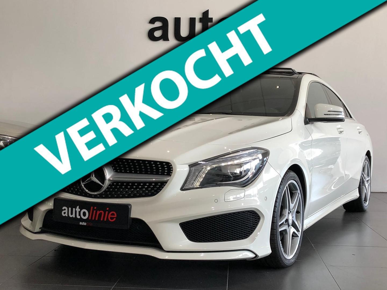 Mercedes-benz Cla-klasse 180 amg-line, panorama, navi, xenon