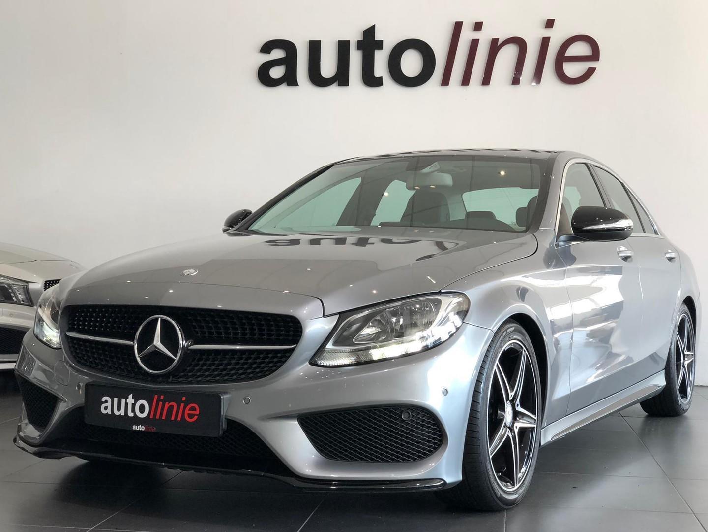 Mercedes-benz C-klasse 180 amg-line automaat, cruise!