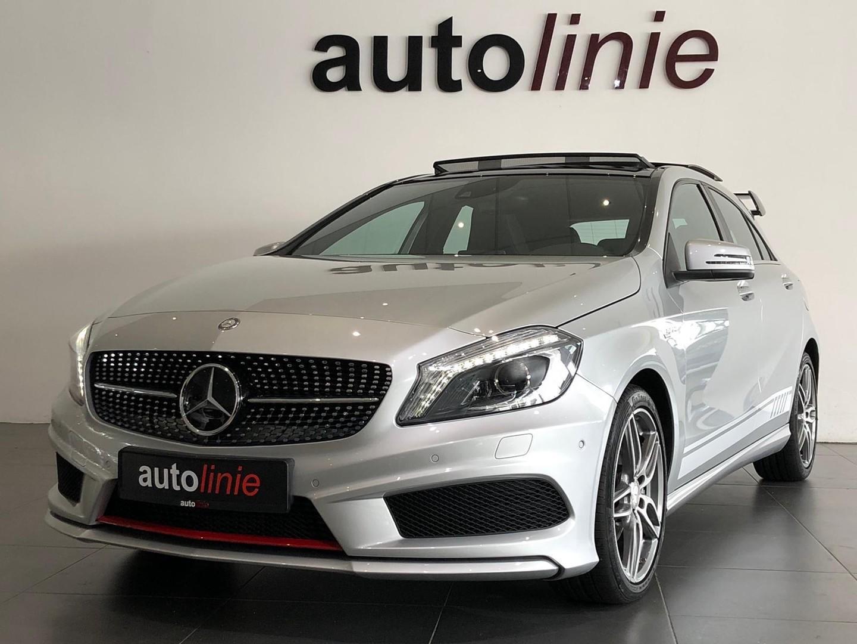 Mercedes-benz A-klasse 200 amg-line ,a45 pak. ,pano, camera!