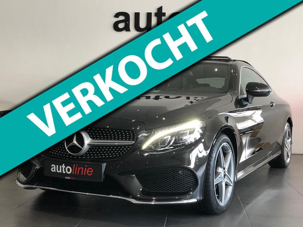 Mercedes-benz C-klasse Coupé 200 ambition amg-line, panorama