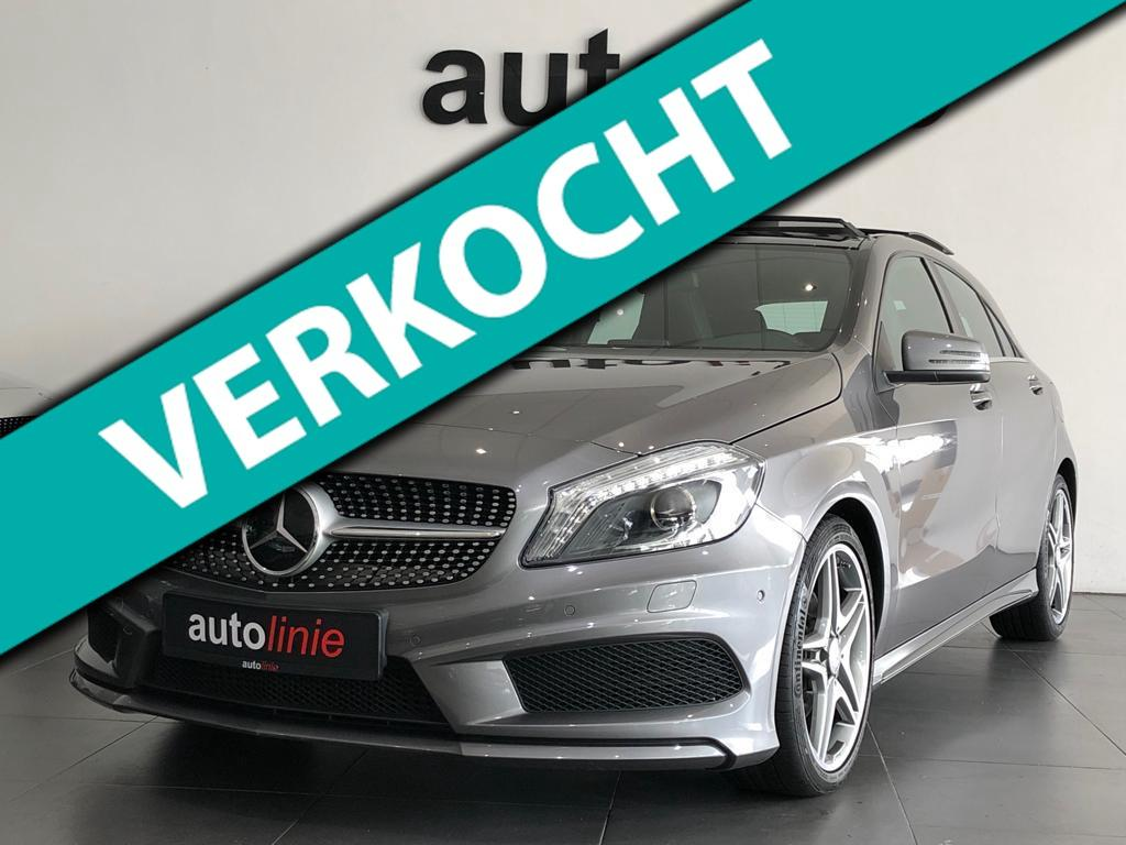 Mercedes-benz A-klasse 180 ambition amg-line, pano, camera!