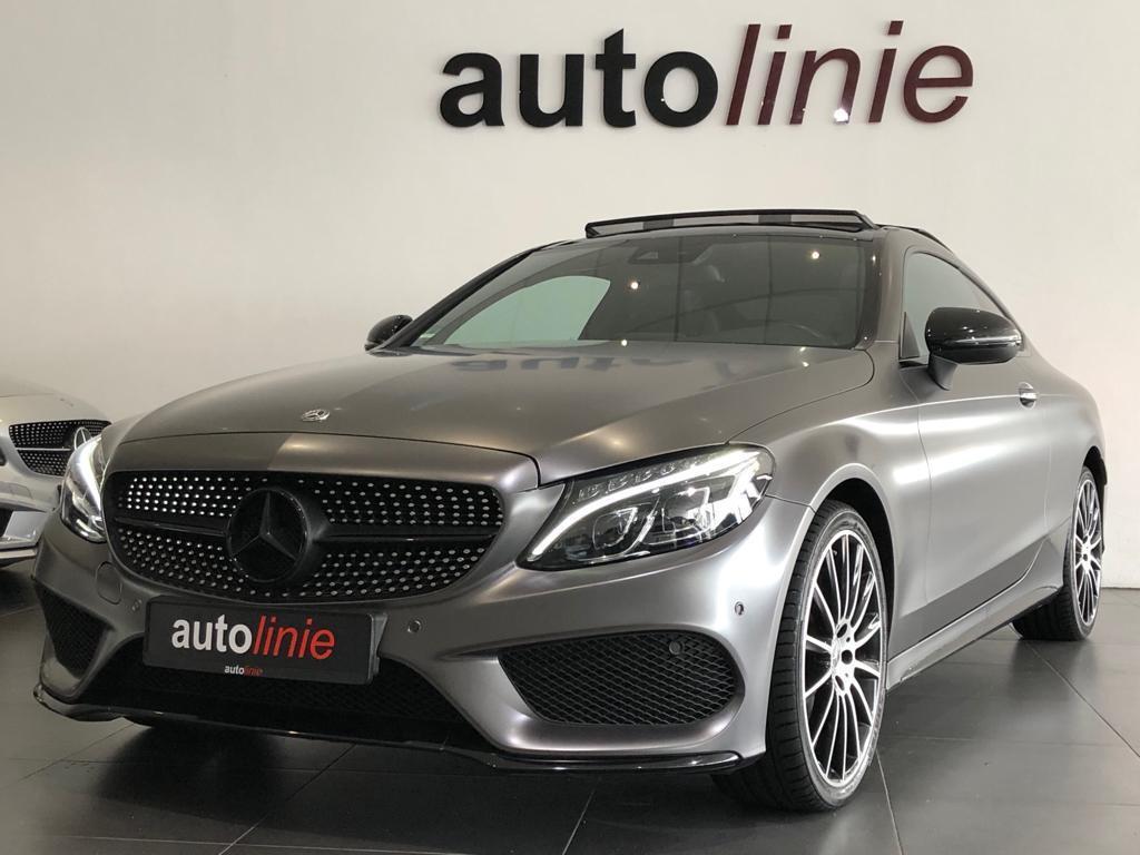 Mercedes-benz C-klasse Coupé 250 amg-line, panorama, camera!