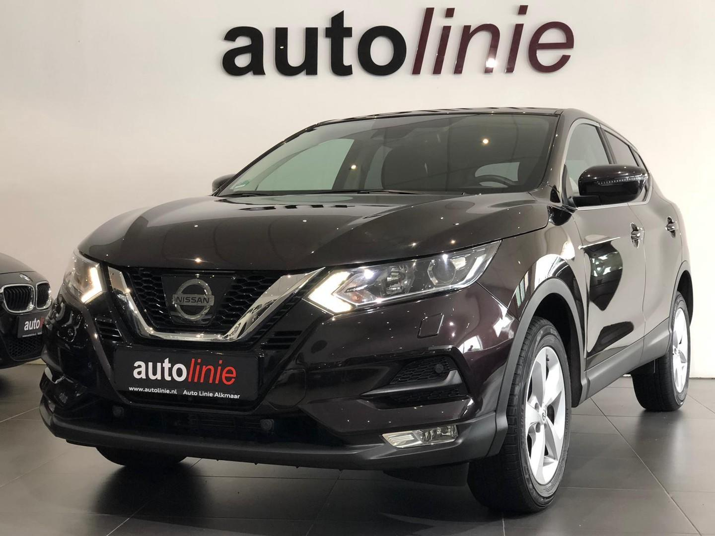 Nissan Qashqai 1.2 n-connecta aut., navi, camera, cruise, airco!