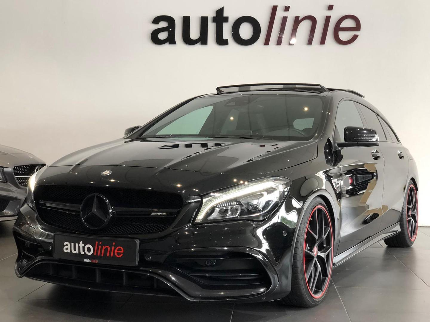 Mercedes-benz Cla-klasse Sb 45 amg 4matic performance, pano!