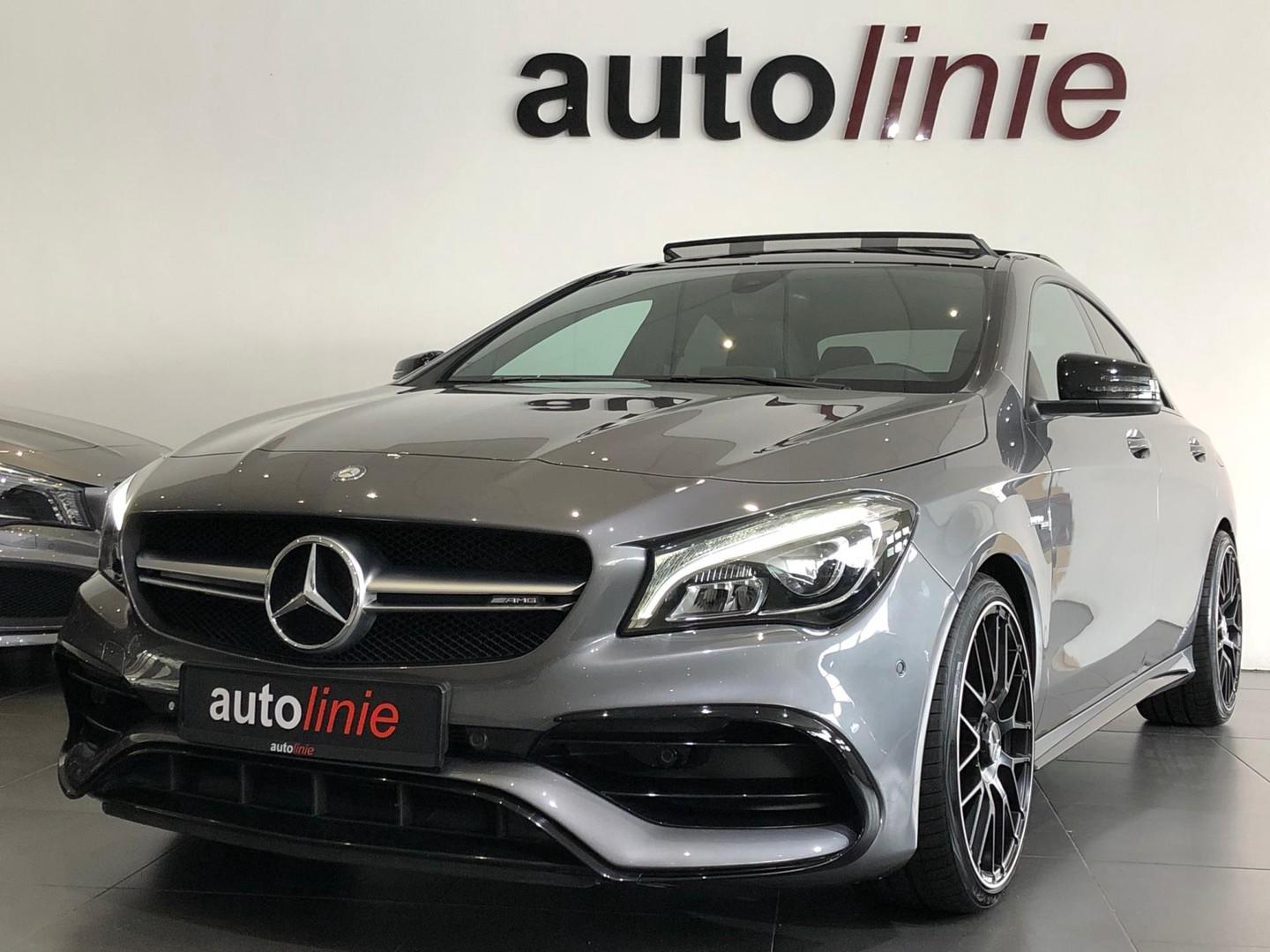 Mercedes-benz Cla-klasse 45 amg 4matic camera, pano, 381pk!