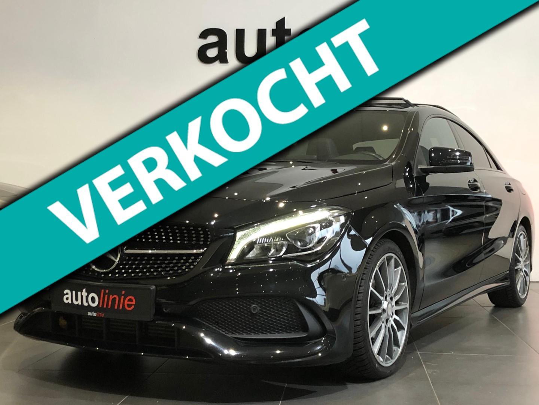 Mercedes-benz Cla-klasse 180 amg-line ,pano,camera,h.kardon!